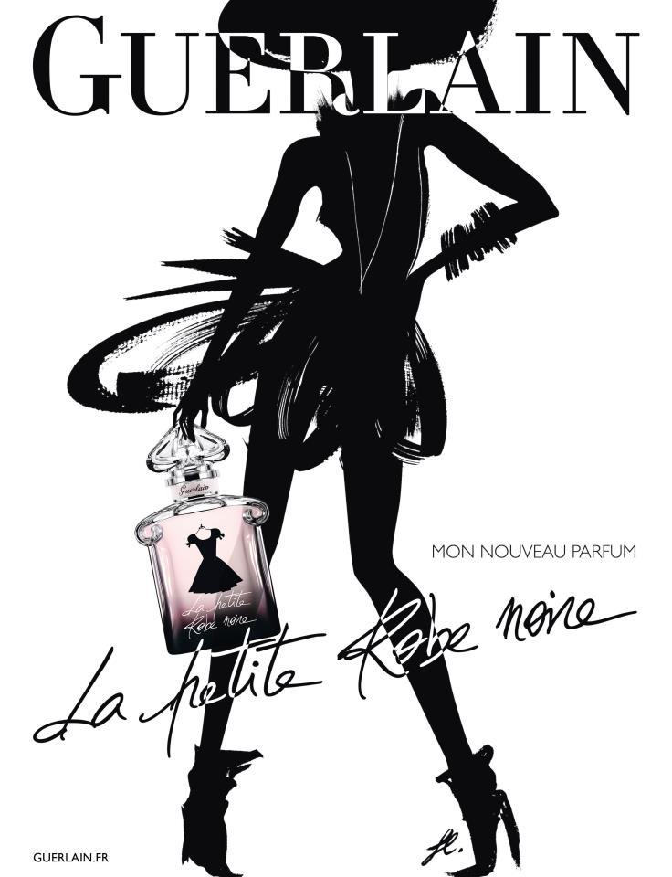La petite robe noire de guerlain backstage charliestine - Petite robe noire guerlain ...