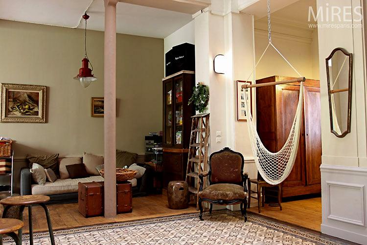 Belle epoque charliestine for Eclectische stijl interieur