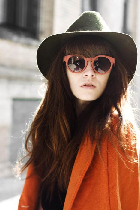 1 Fashion Gallery HATS Streetstyle # Winter 2012 on charliestine.net