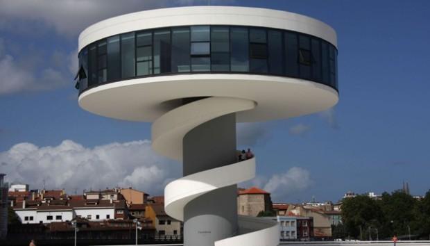 13 Centre Oscar Niemeyer a Avilas en Espagne on charliestine.net