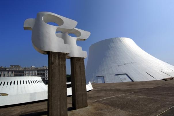 16 Le Volcan Maison de la culture du Havre on charliestine.net