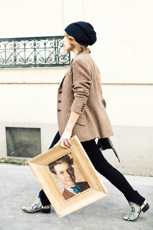 2 Fashion Gallery HATS Streetstyle # Winter 2012 on charliestine.net