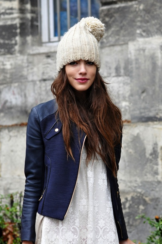 8 Fashion Gallery HATS Streetstyle # Winter 2012 on charliestine.net