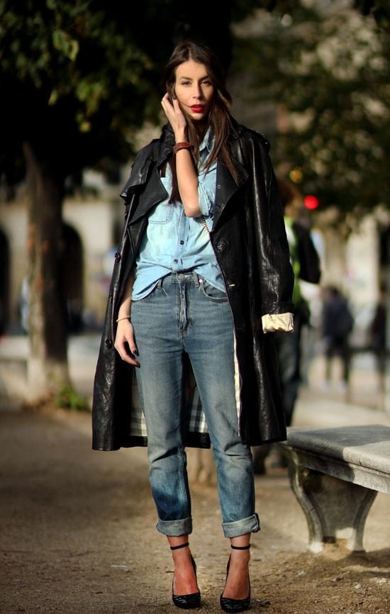 1 Fashion Gallery DENIM Streetstyle # Winter 2012 on charliestine.net