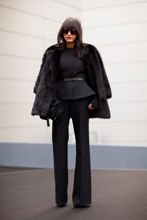 11 Fashion Gallery STREETSTYLE #Black Stack# Winter 2012-2013 on charliestine.net (2)