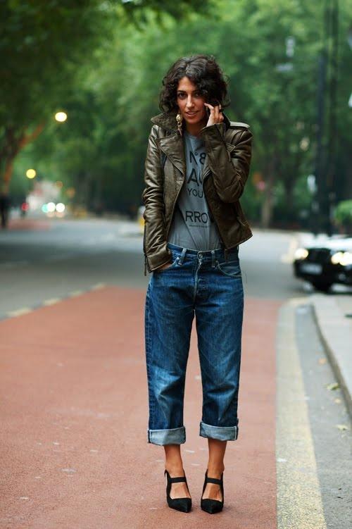 13 Fashion Gallery DENIM Streetstyle # Winter 2012 on charliestine.net
