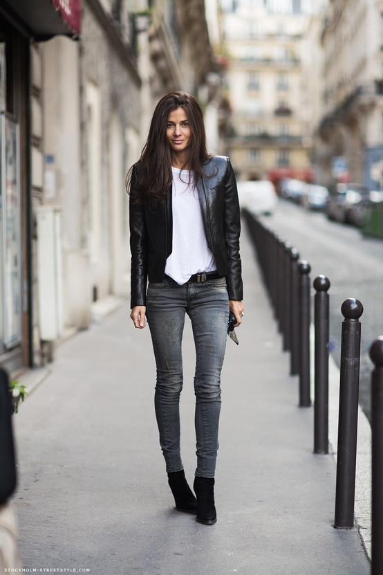 13 Fashion Gallery STREETSTYLE #Black Stack# Winter 2012-2013 on charliestine.net