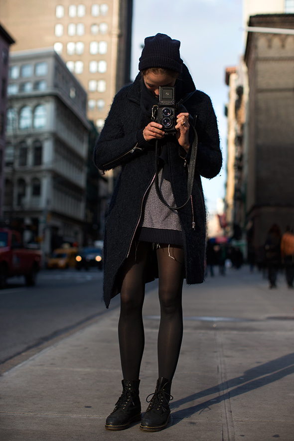 14 Fashion Gallery STREETSTYLE #Black Stack# Winter 2012-2013 on charliestine.net