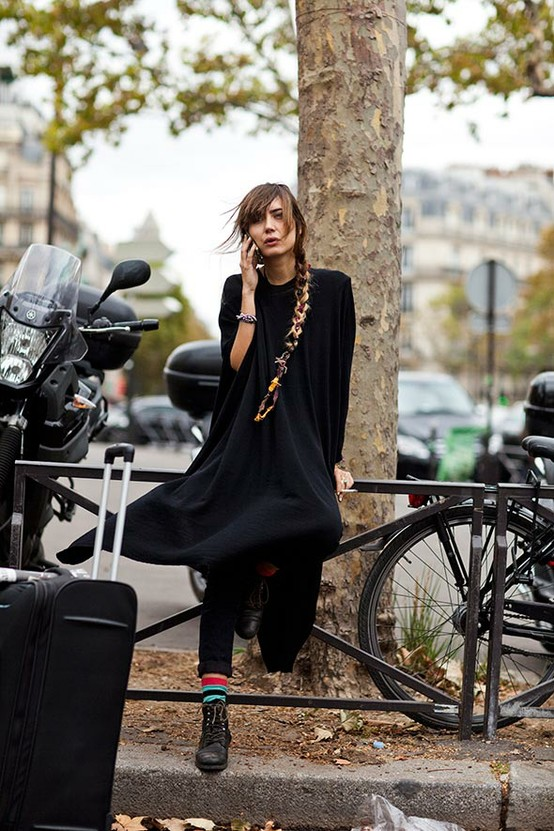 2 Fashion Gallery STREETSTYLE #Black Stack# Winter 2012-2013 on charliestine.net