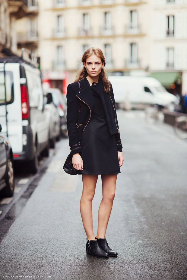 3 Fashion Gallery STREETSTYLE #Black Stack# Winter 2012-2013 on charliestine.net