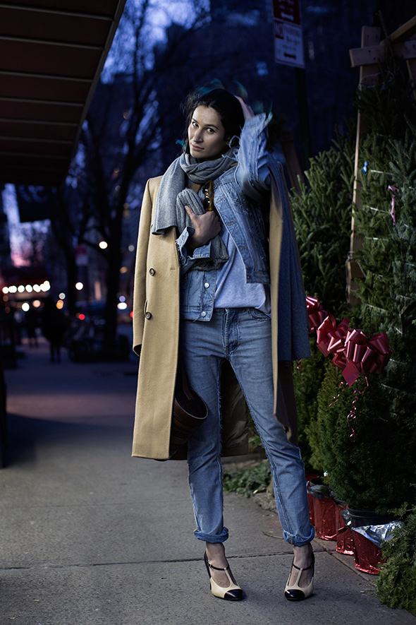 5 Fashion Gallery DENIM Streetstyle # Winter 2012 on charliestine.net