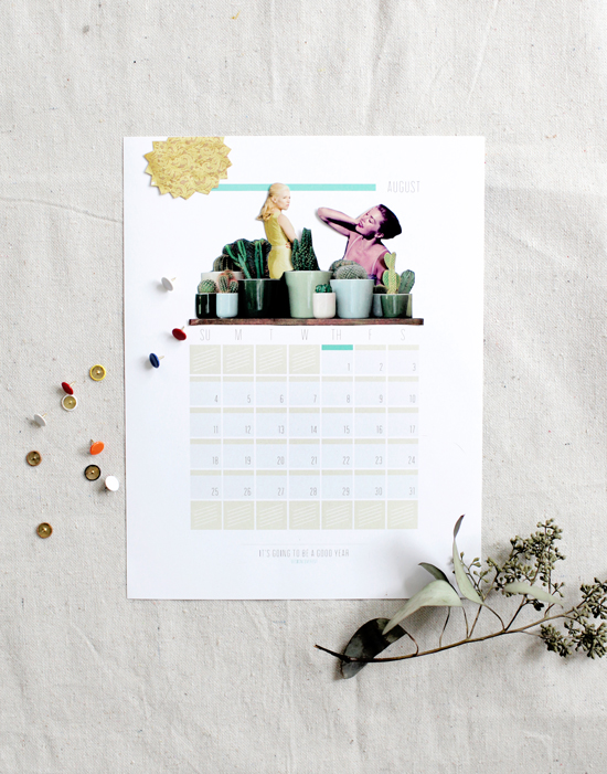 5' Free printable 2013 calendars on charliestine.net
