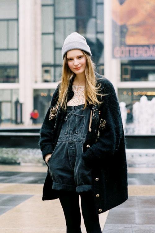 6 Fashion Gallery DENIM Streetstyle # Winter 2012 on charliestine.net