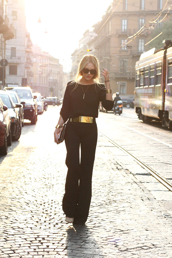 9 Fashion Gallery STREETSTYLE #Black Stack# Winter 2012-2013 on charliestine.net