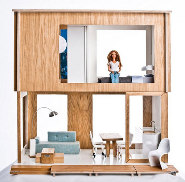 0 Miniio Modern Doll House on CharliEstine.net