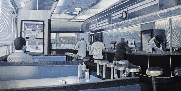 1 Denimu_Art_American_Diner on charliestine.net