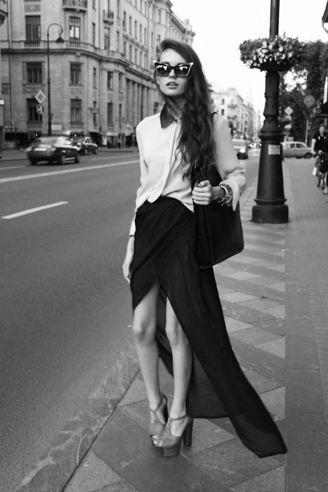 1 Fashion Gallery LONG Streetstyle # Winter 2012 on charliestine.net