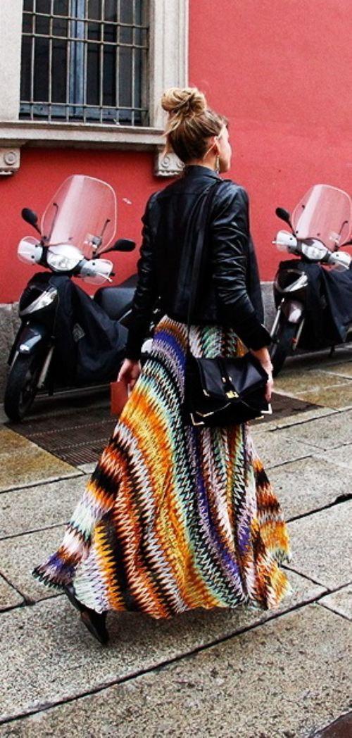10 Fashion Gallery LONG Streetstyle # Winter 2012 on charliestine.net