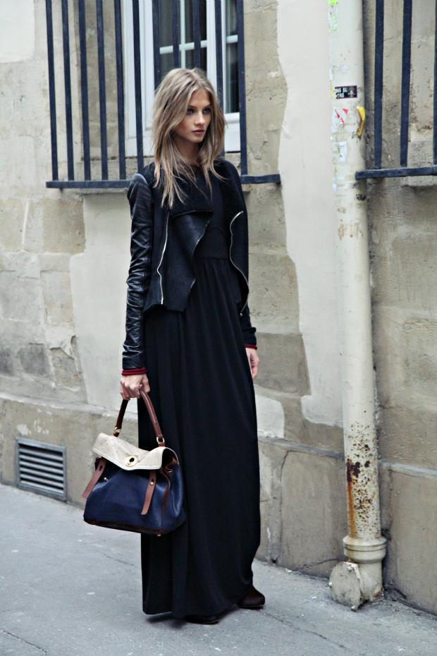 11 Fashion Gallery LONG Streetstyle # Winter 2012 on charliestine.net
