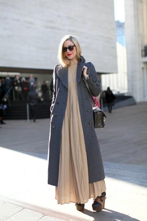 14 Fashion Gallery LONG Streetstyle # Winter 2012 on charliestine.net