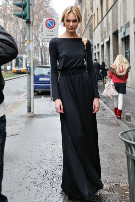 2 Fashion Gallery LONG Streetstyle # Winter 2012 on charliestine.net