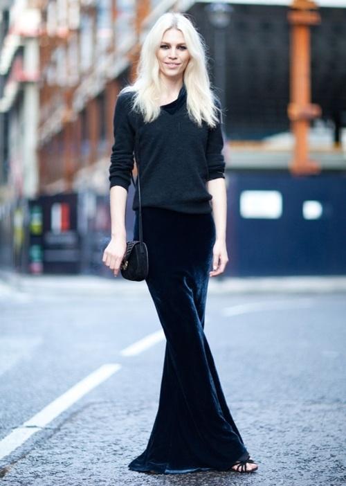 7 Fashion Gallery LONG Streetstyle # Winter 2012 on charliestine.net