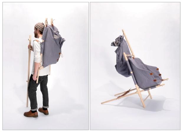 1 The Nordic Nomad Chair  by Bjarke Frederiksen on charliestine.net