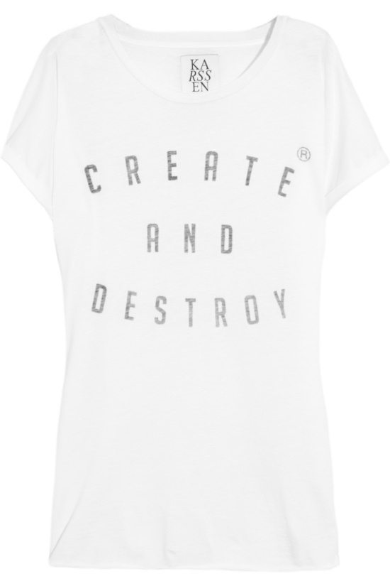 15 TEXTE SHIRT on CharliEstine.net