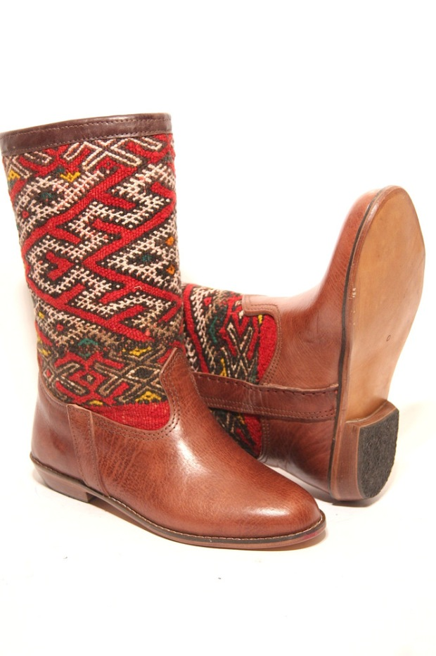2 Bottes Kilim by Georgy on CharliEstine.net