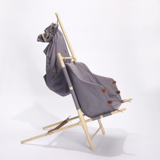 2 The Nordic Nomad Chair  by Bjarke Frederiksen on charliestine.net
