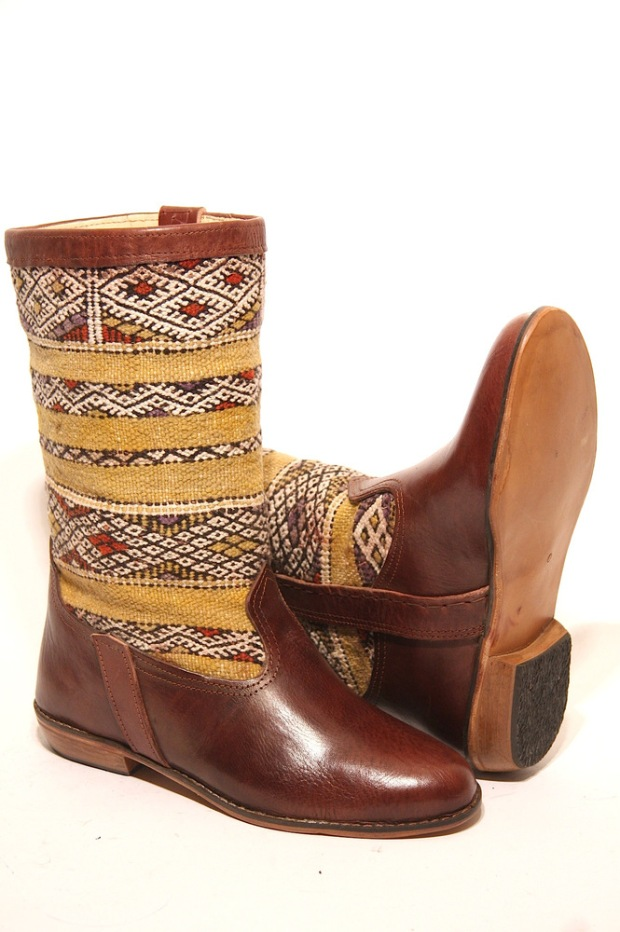 3 Bottes Kilim by Georgy on CharliEstine.net