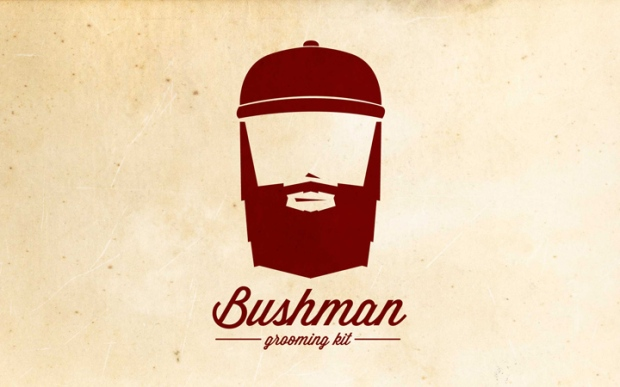 7 Bushman Grooming Kit branding by Nick Johnston on CharliEstine.net