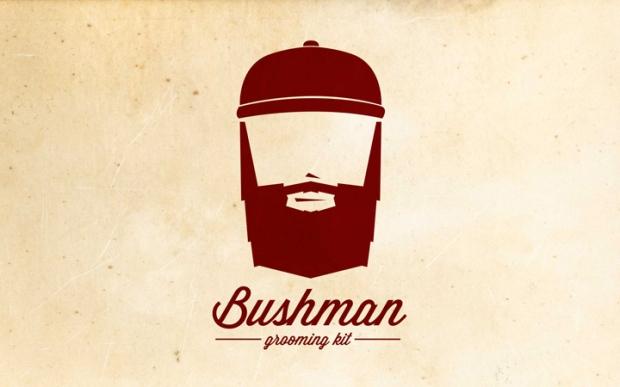 7 Bushman Grooming Kit branding by Nick Johnston on CharliEstine.net