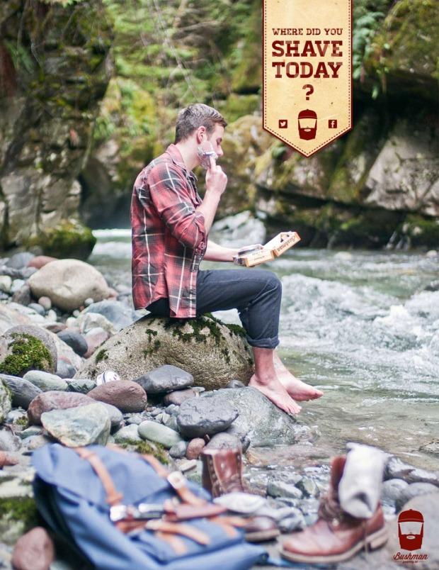 8 Bushman Grooming Kit branding by Nick Johnston on CharliEstine.net