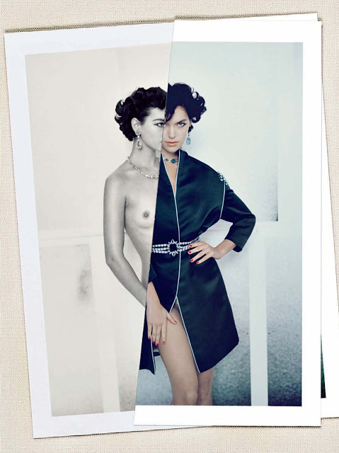 Arizona Muse by Paolo Roversi (Lost In Details - Vogue Italia March 2012)